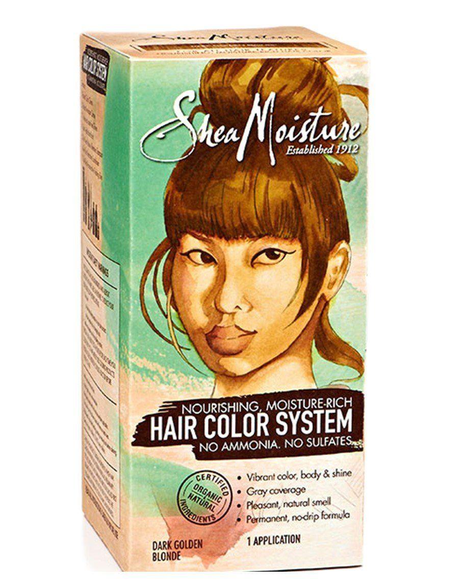 Shea Moisture Dark Golden Blonde Hair Color System Sulfate Free