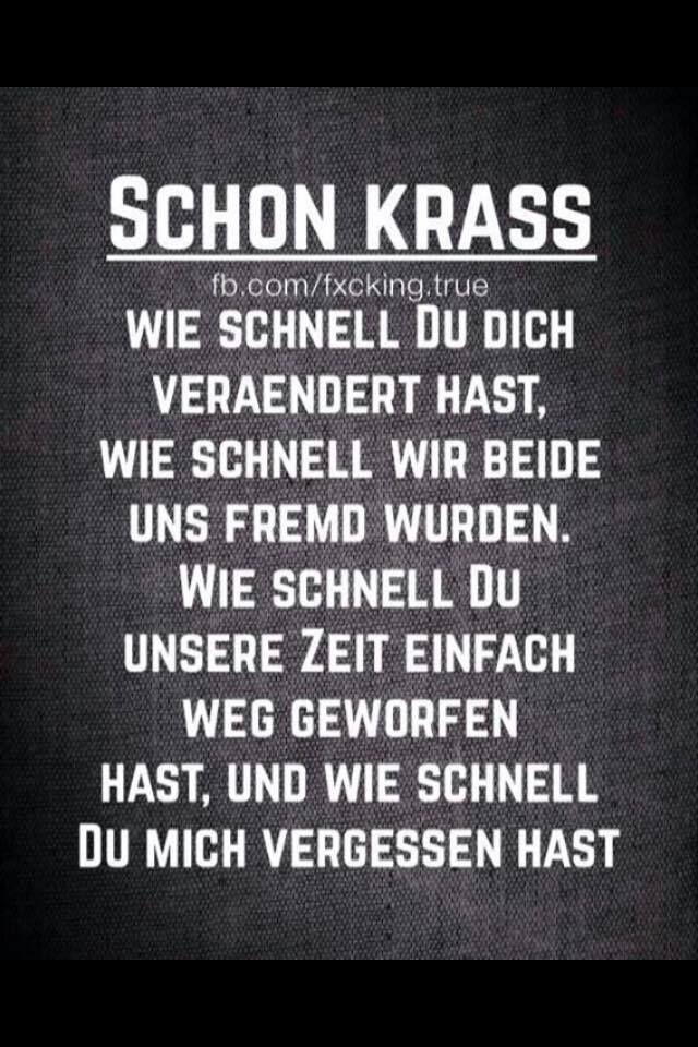Schon krass.. | Sprüche | Quotes, German quotes und Words