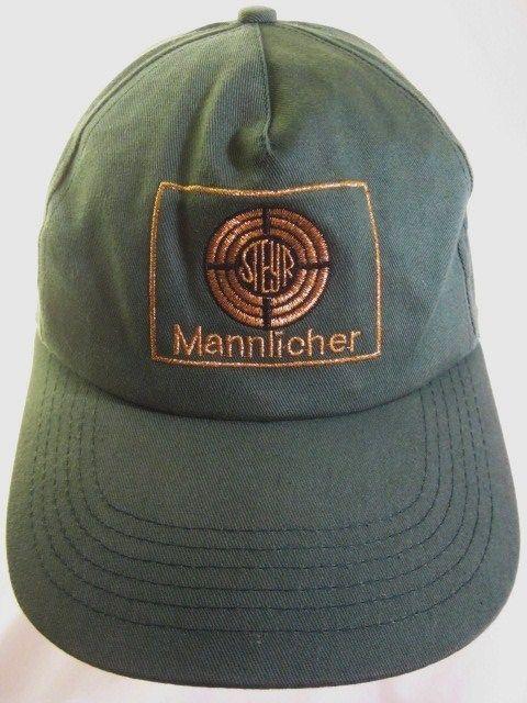 7a5cf77694f Steyr Mannlicher Ball Cap Green w Gold Embroidered Logo Snapback Adjustable  Hat  Mannlicher  SteyrMannlicher