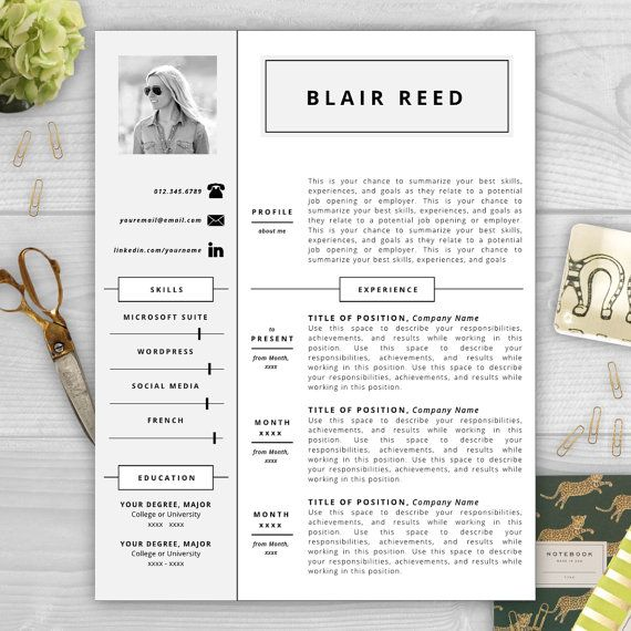 resume template with photo modern resume by resumetemplatestudio - Summarize Your Achievements