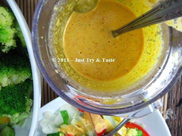 Salad Sayur Dengan Dressing Jeruk Sunskist Makanan Resep Memasak