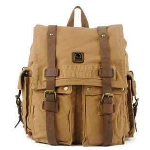 c1148b7f30c1 Large canvas travel rucksacks daypacks unisex from Vintage rugged canvas  bags