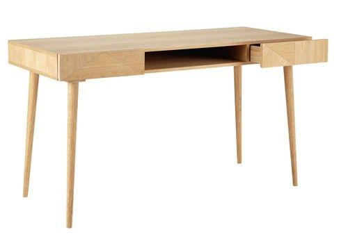 Bureau vintage tiroirs office desk home office plan de