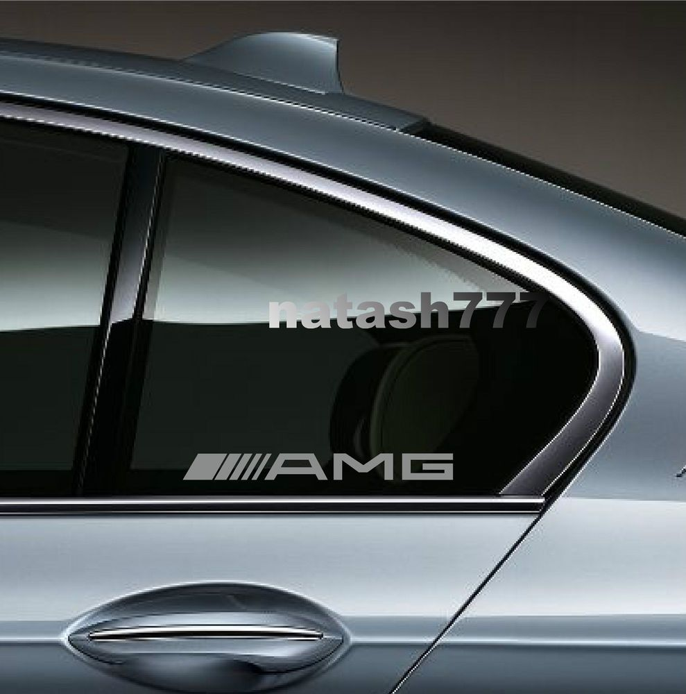 Amg Mercedes Benz E55 Cls63 E63 Racinig Decal Sticker Emblem Logo