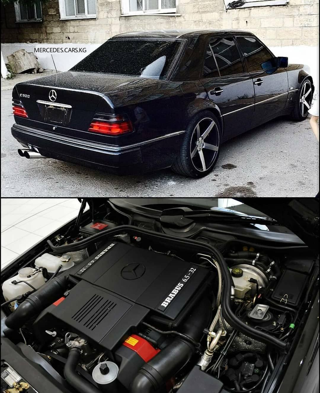 W124 Not a fan of the wheels, but the engine 😚 | Transport