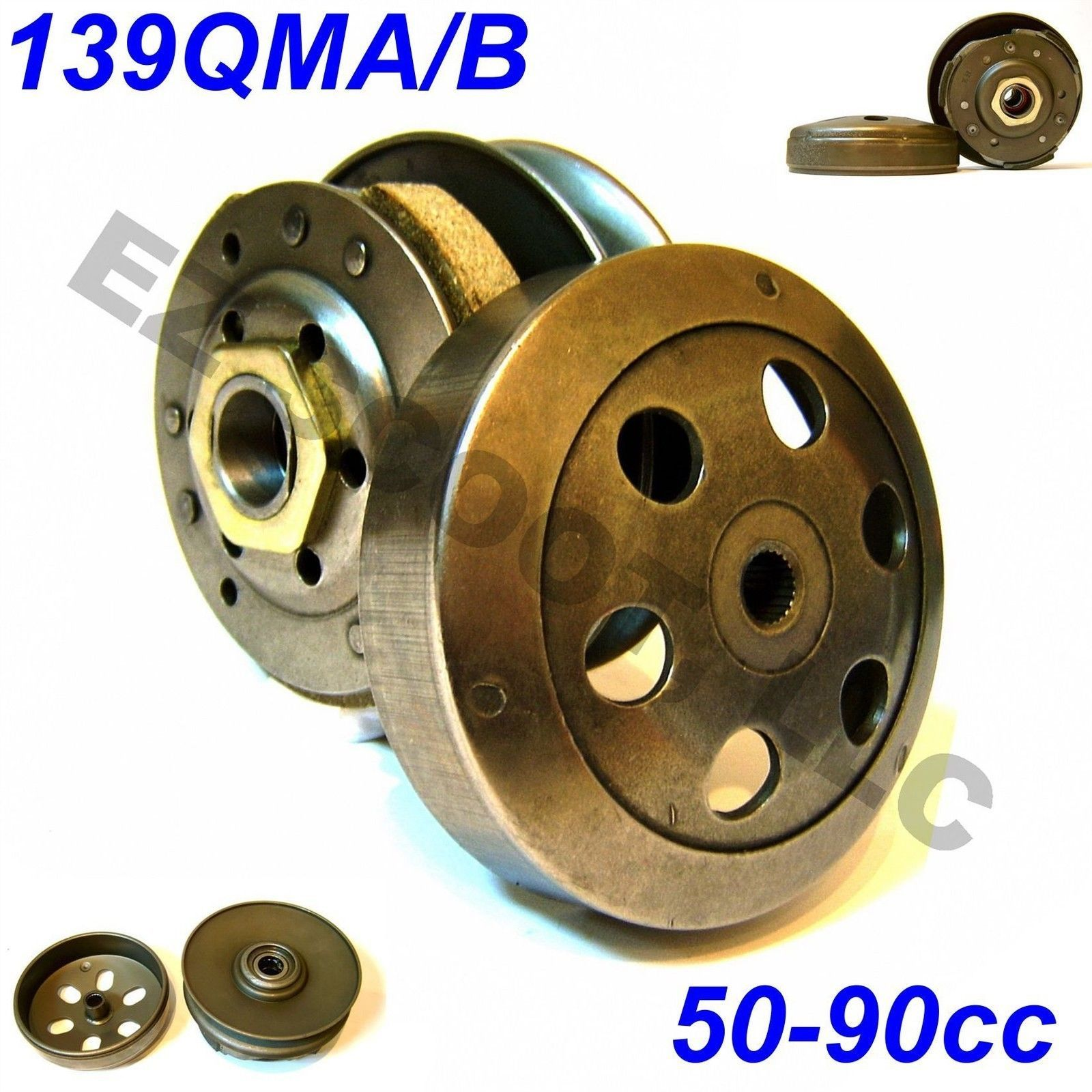 Details about Rear CLUTCH for 50cc-80cc chinese SCOOTER