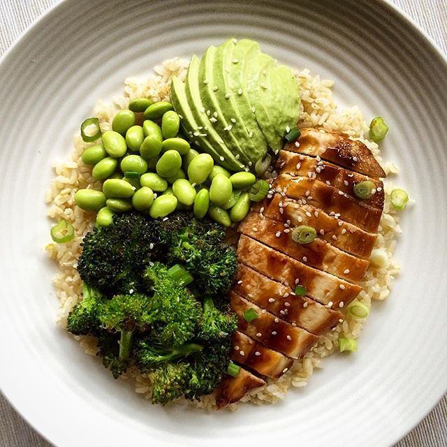 Dinner last night was teriyaki chicken with broccoli for Fish and broccoli diet