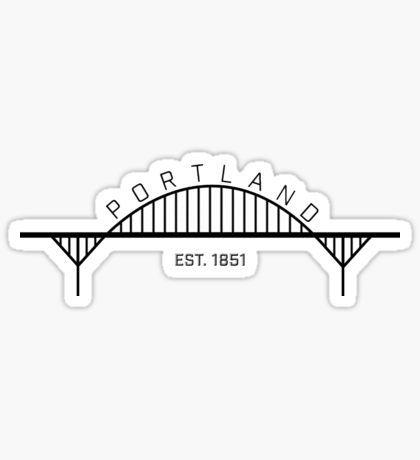 portland by stickersgalore