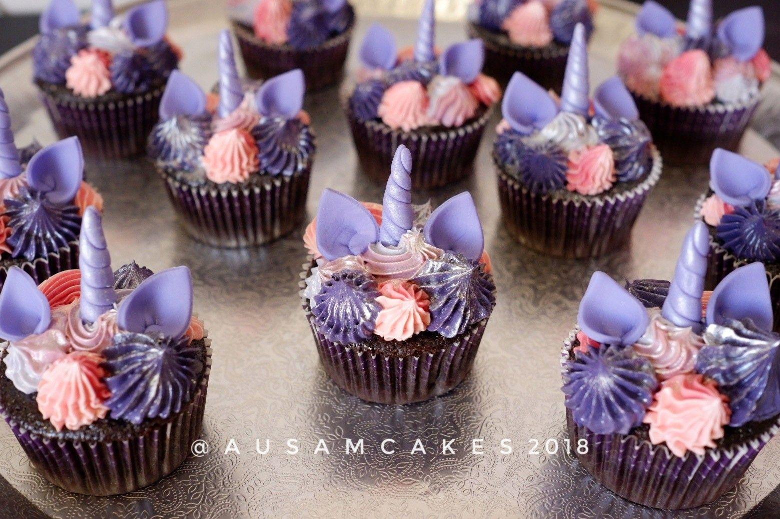 My Little Pony Twilight Sparkles Cupcakes
