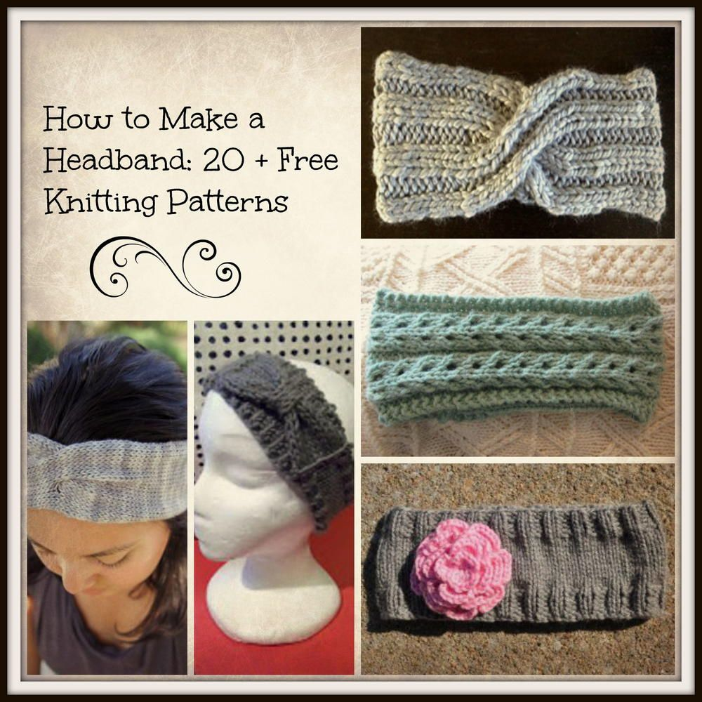 How to make a headband 20 free knitting patterns beginner how to make a headband 20 free knitting patterns bankloansurffo Images