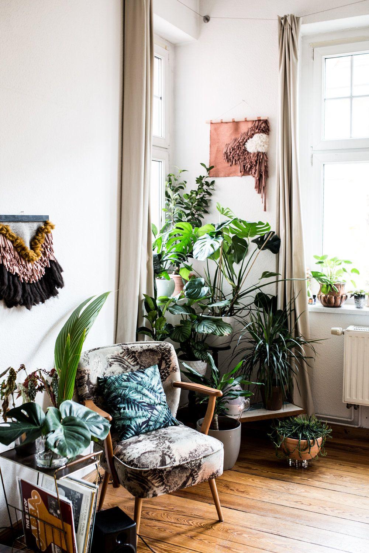 Inspiration d co question de vert lovely living for Zimmerpflanzen wohnzimmer
