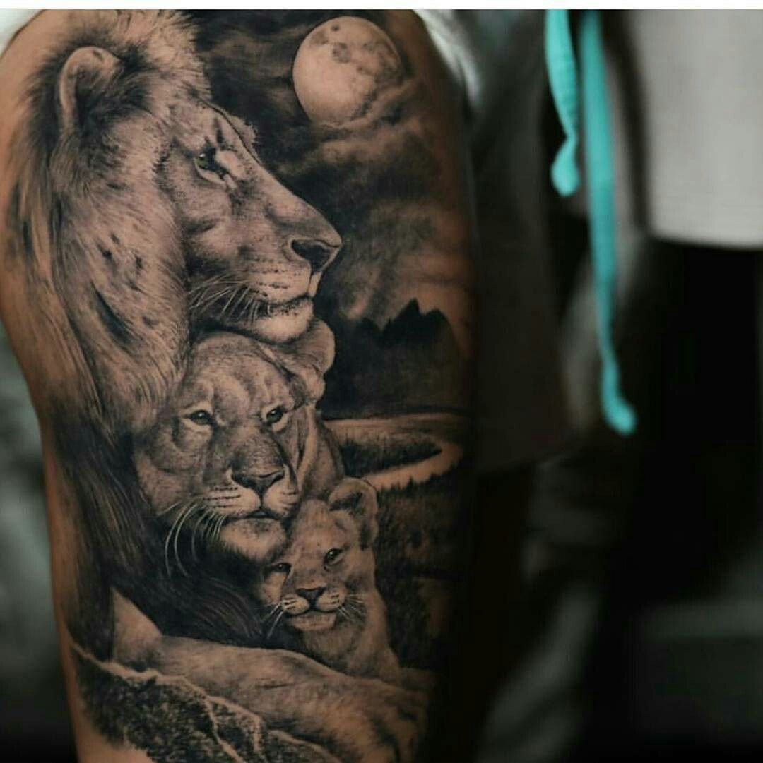 Sleeve Tattoos Pinterest Lion Tattoo