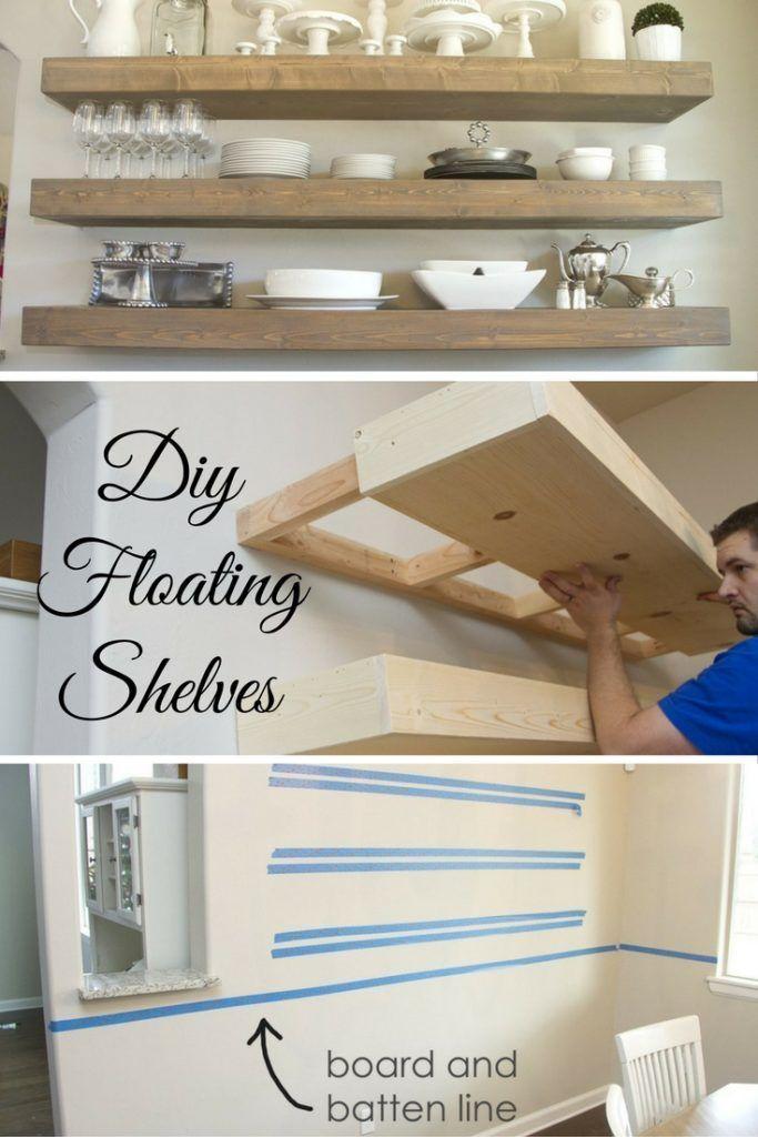 19 Diy Floating Shelves Ideen #floating #ideen #shelves #floatingshelves