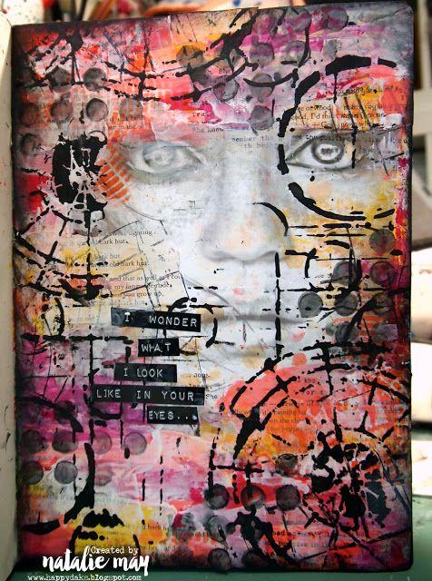 Happy Daks! Natalie May Art Journal
