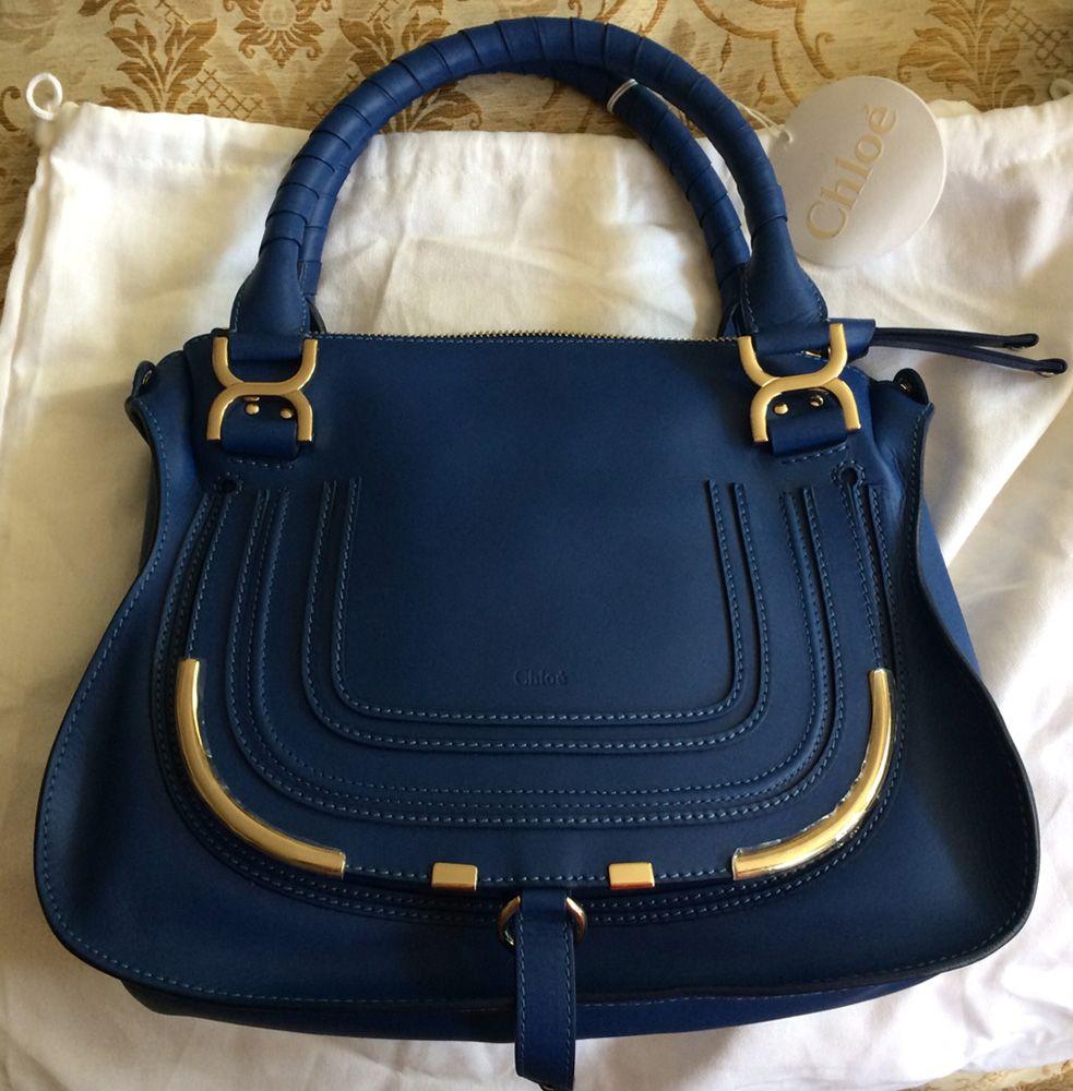 48fa28305de Chloe Marcie Bag Blue | HANDBAG AFICIONADOS™ | Chloe marcie bag ...