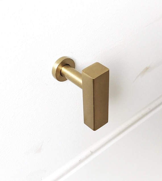 European Brass Cabinet Knob. Drawer Pull. Cabinet Knob. [BACKORDERED ...