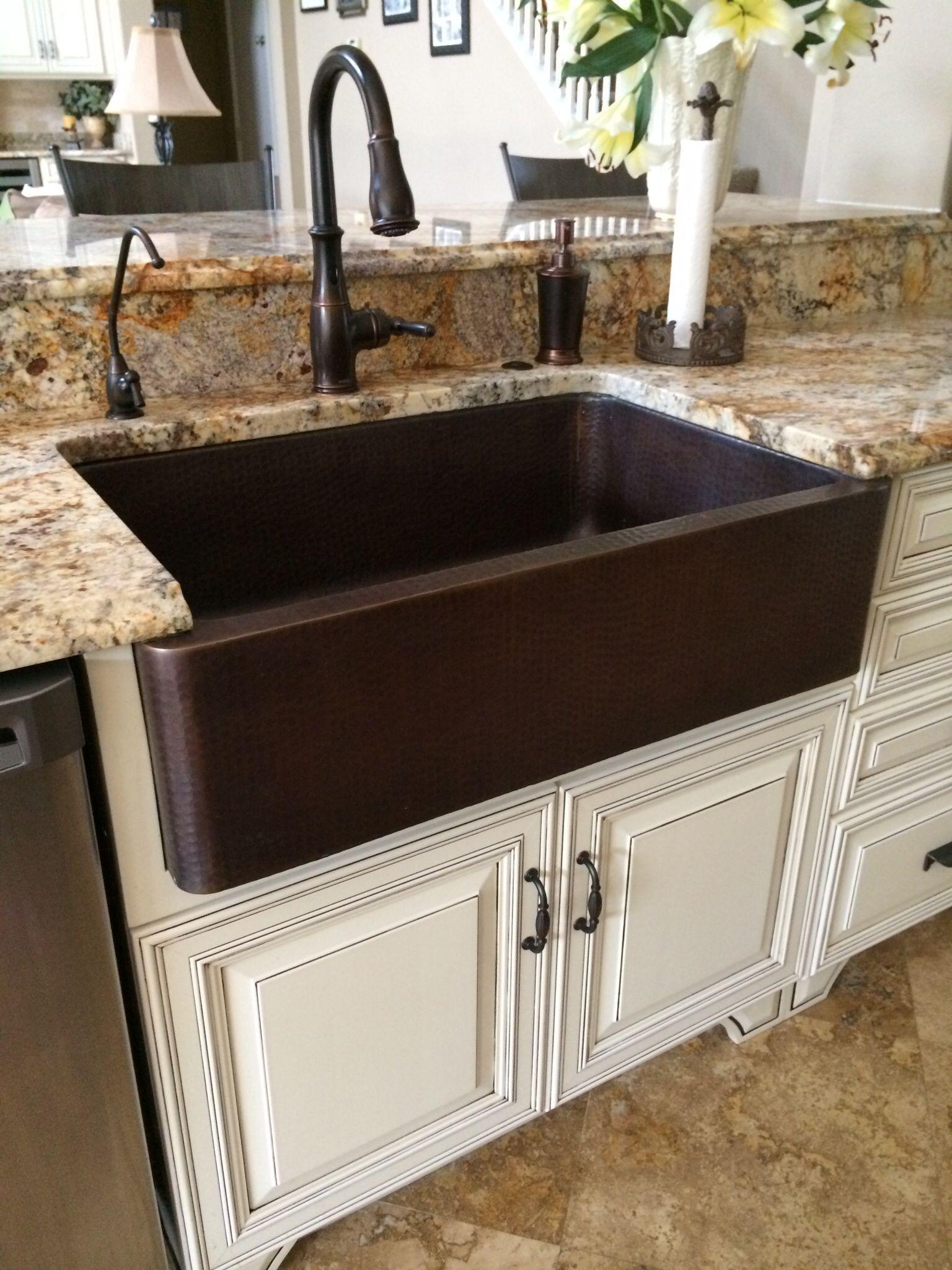 Beautiful Bronze Farmhouse Kitchen Sink Farmhouse Sink Kitchen
