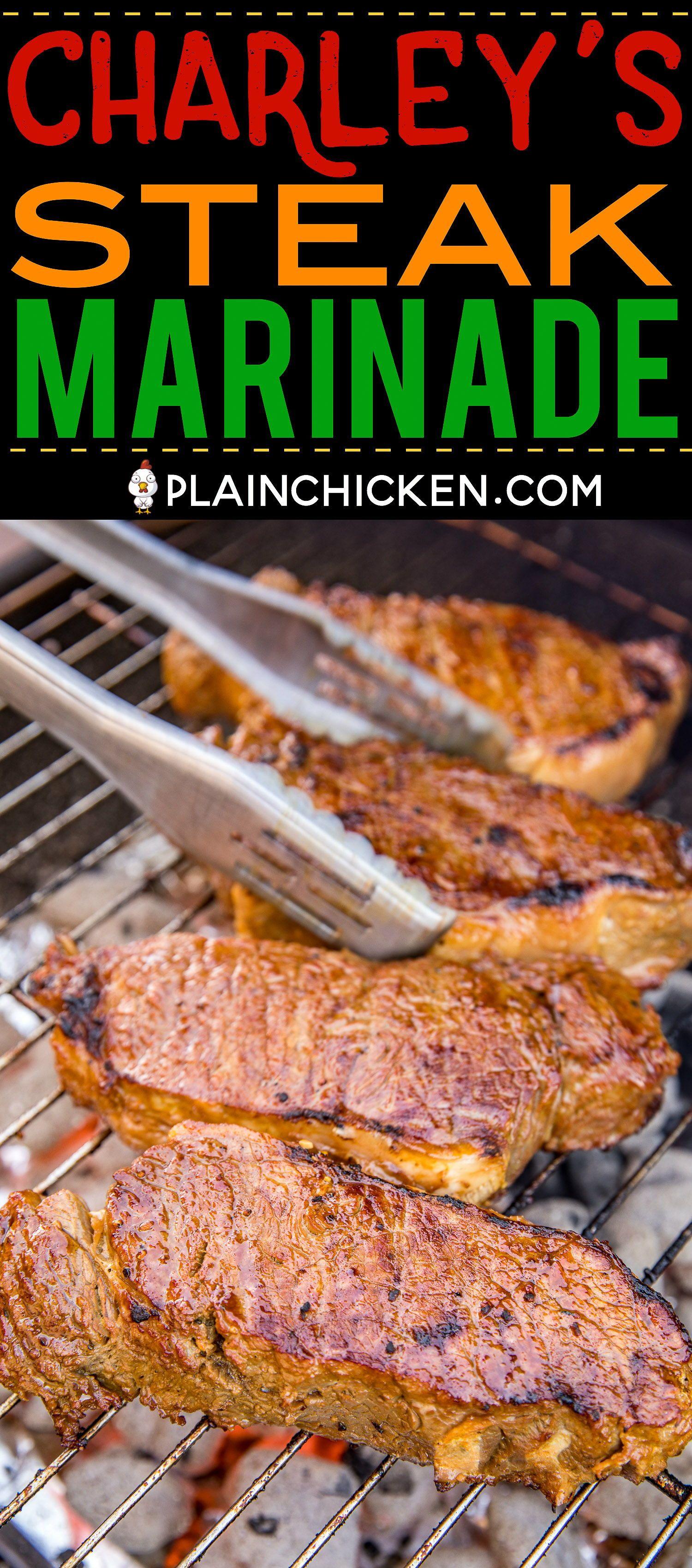 Charley's Steak Marinade - Plain Chicken