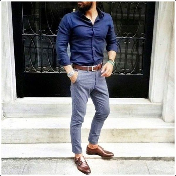 casual monk strap shoes