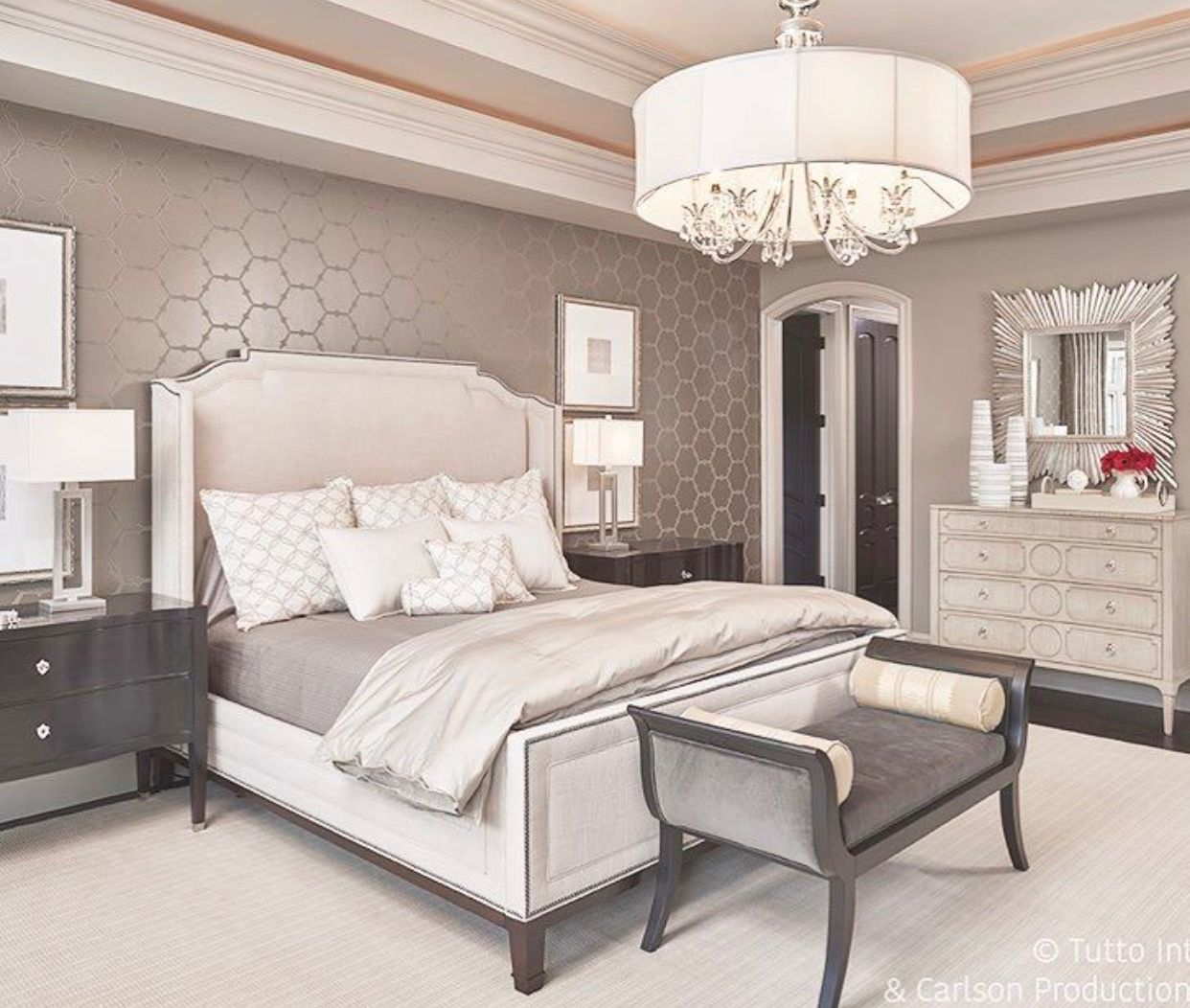 Design An Elegant Bedroom In 5 Easy Steps: Pin By Tamara Spagnola Hornbuckle On Master Bedroom