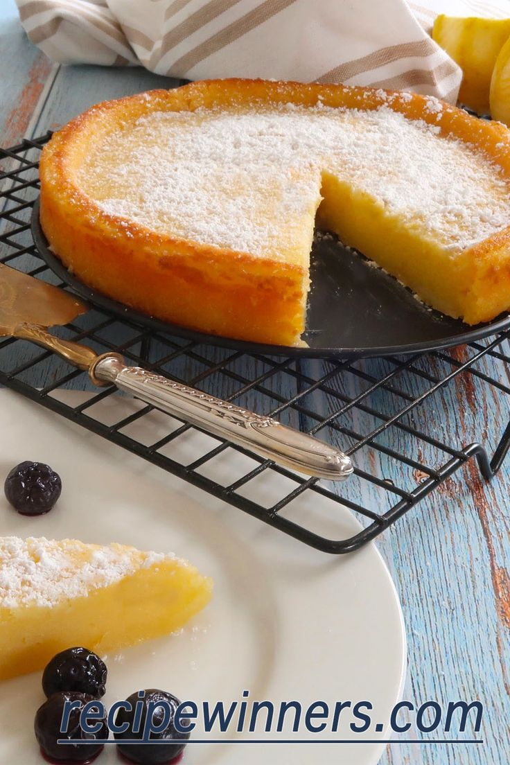 Easy Crustless Lemon Tart is exactly what the name promises. Making dessert just got a whole lot easier, just pop everything into a bowl, beat and then cook. Out comes a soft, creamy and very lemony spectacular dessert. If you are a lemon lover then this is one for your repertoire!