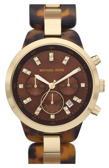 a2ac5b70aa66 Michael Kors  Showstopper  Chronograph Bracelet Watch