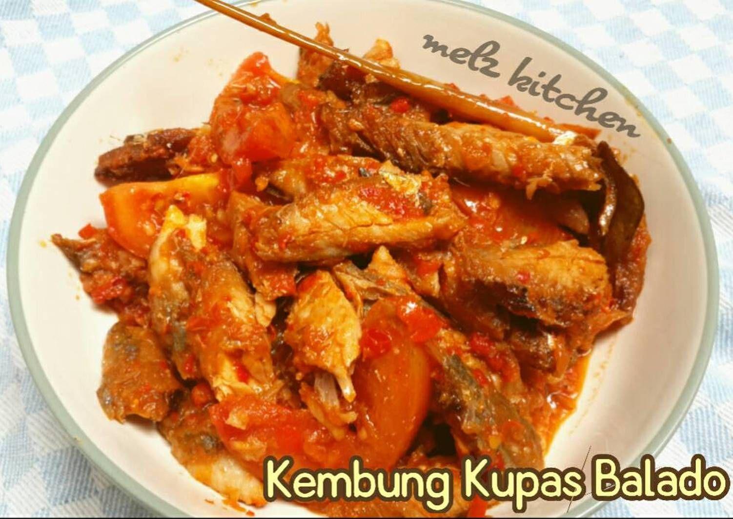 Resep Kembung Kupas Balado Oleh Melz Kitchen Resep Makanan Resep Ikan