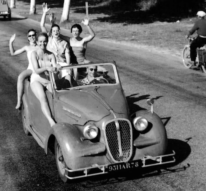 The Summer Holidays 1950's Robert Doisneau