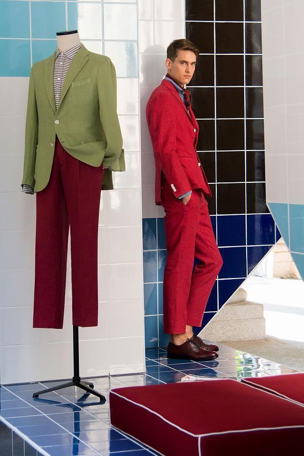 Boglioli Men's S/S '15 look book