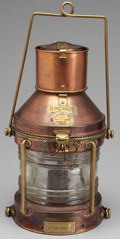 Maritime Lamps & Lighting Rare Yacht Saloon Chandelier With 2 Perkins Perko Ship Lanterns To Have A Long Historical Standing