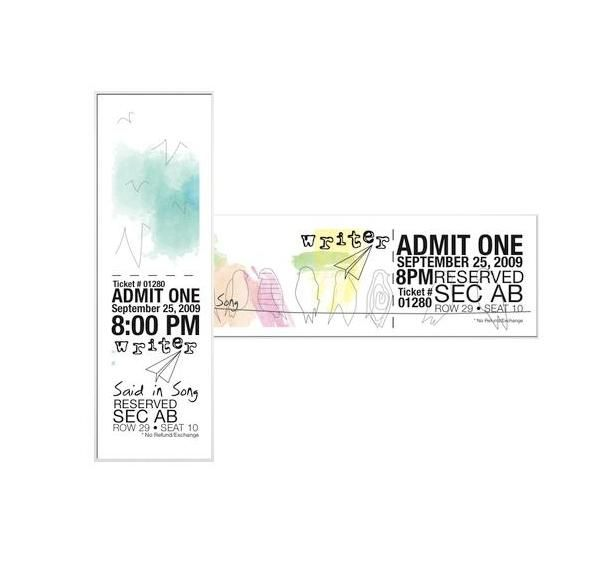 Doc600253 Sample Concert Ticket Concert tickets Design and – Make Your Own Concert Ticket