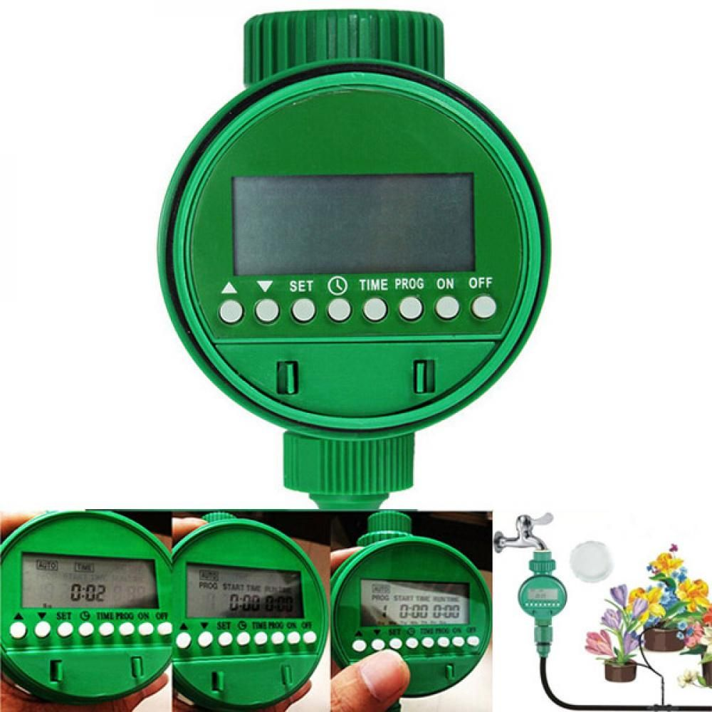 Intelligent Automatic Flowers Watering Timer House Garden