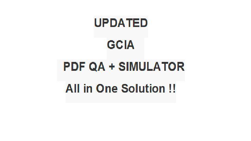 $5 95 - Giac Certified Intrusion Analyst Gcia Test Exam Qa