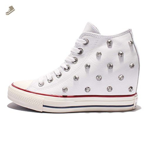 304d4afc1f859 Converse Women's Chuck Taylor All Star Lux, WHITE, 8.5 US - Converse ...