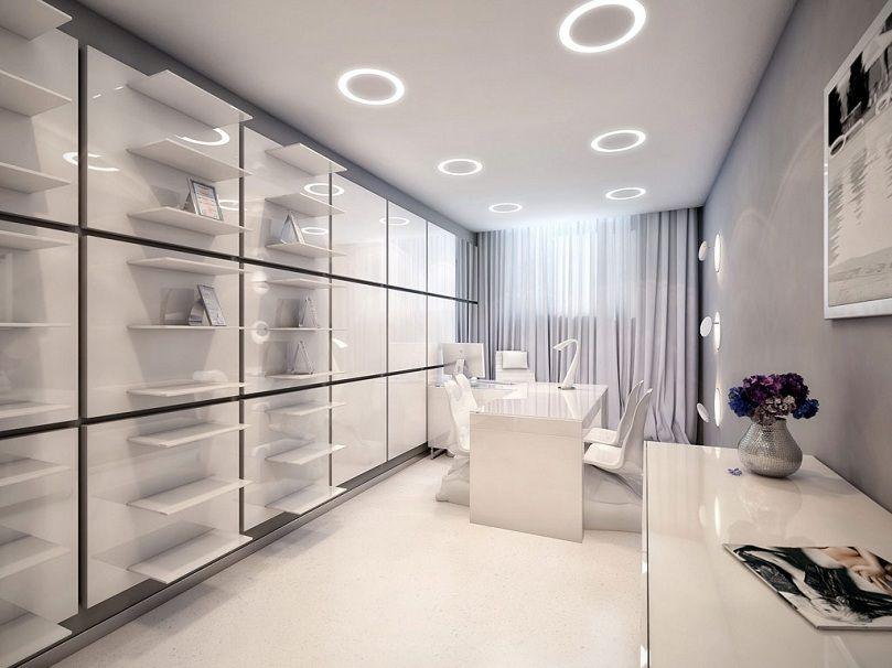 futuristic home office. 4-Futuristic-Home-Office Sample Room Style Futuristic Home Office