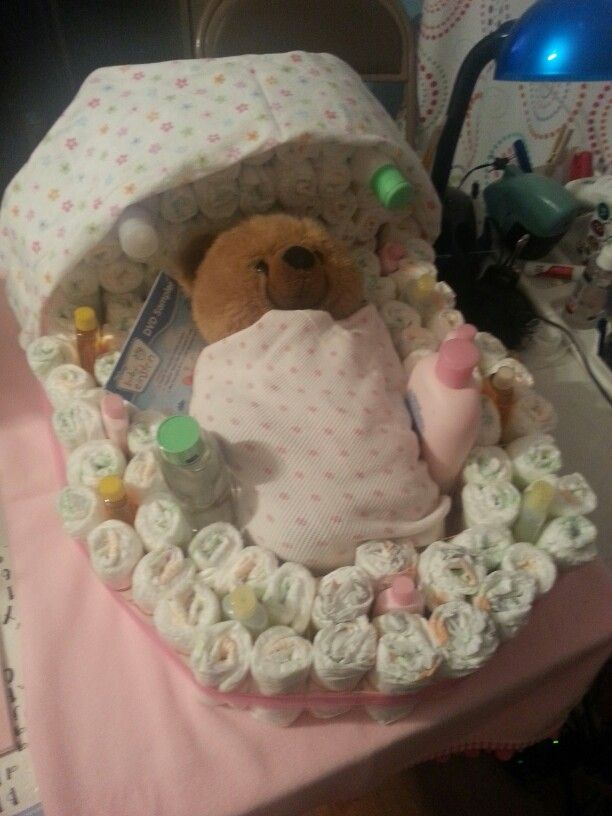Diaper Bassinet Babybaby Shower Pinterest Diaper Bassinet