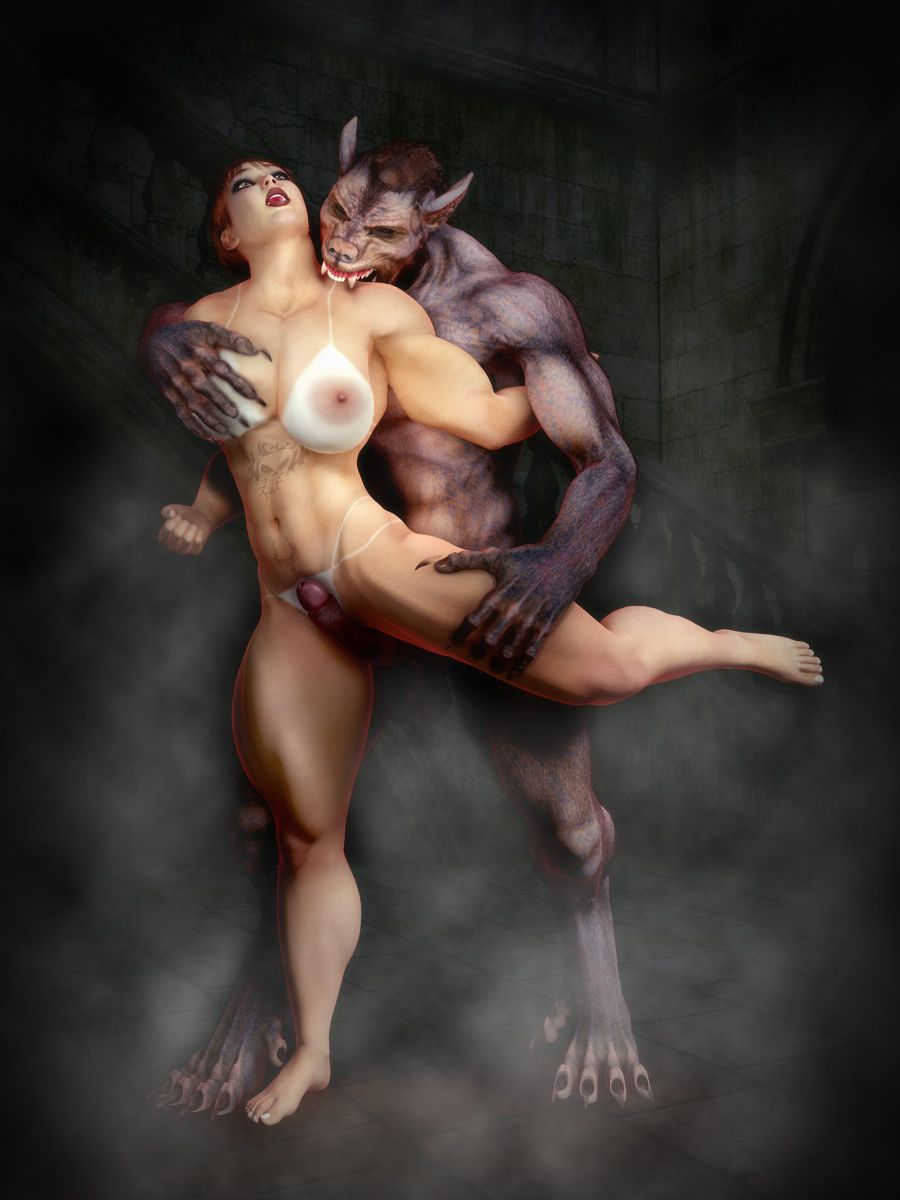 Female Werewolf Sex Porn - Big Werewolf | Tags: werewolf, 3d, art, naked, busty, mature