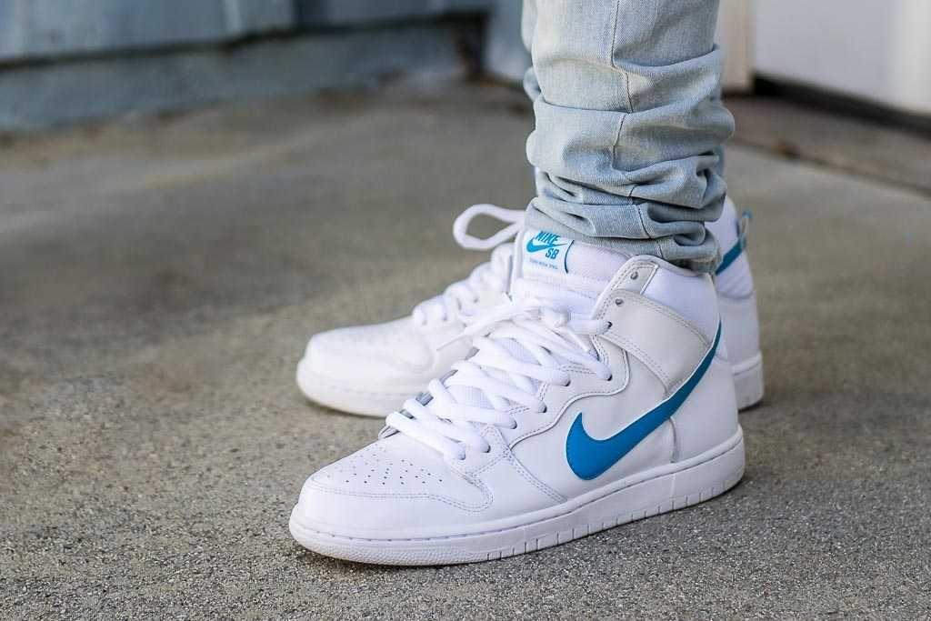 Nike Dunk High SB Mulder On Feet
