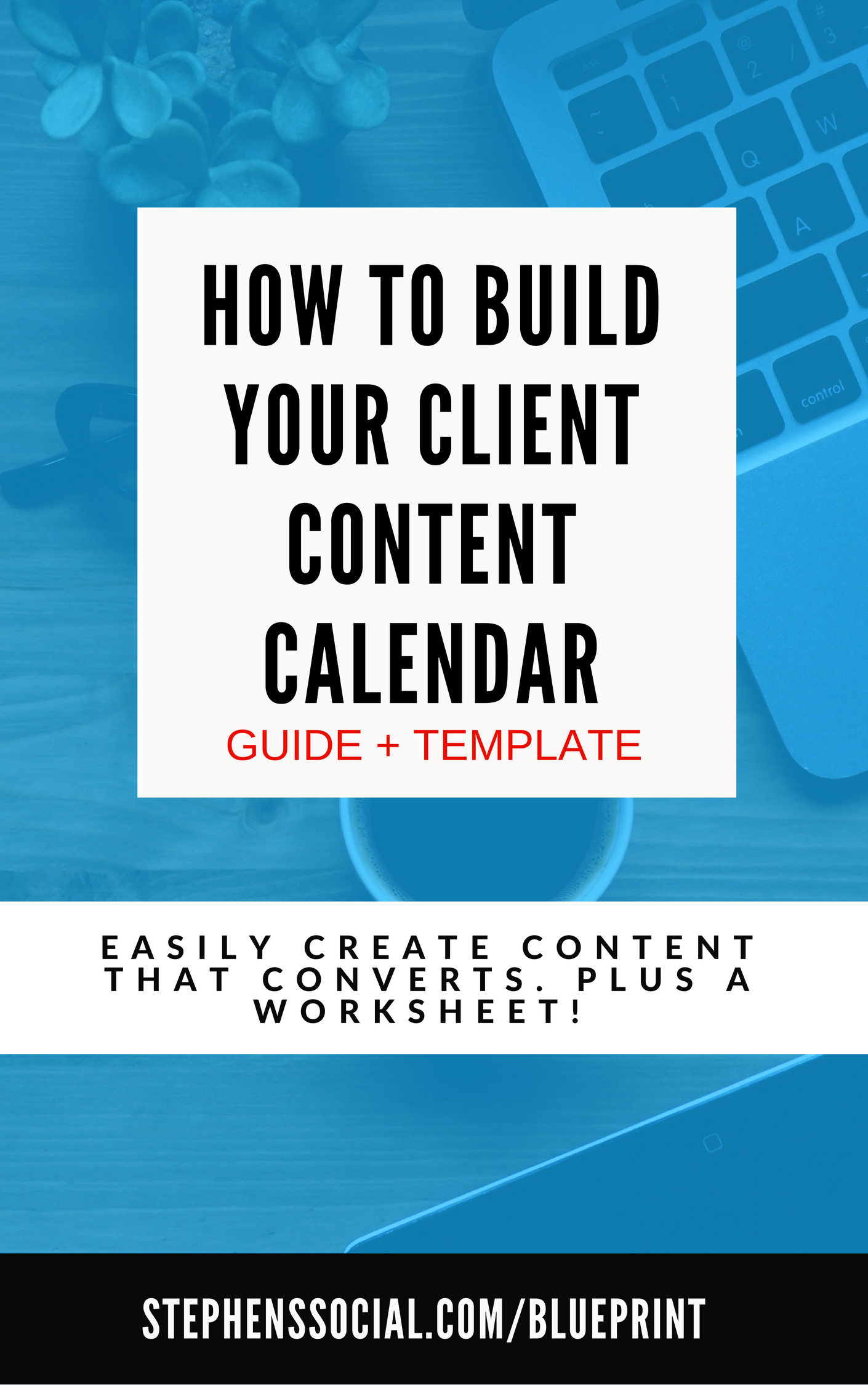 Free Content Calendar Guide Worksheet A Free Guide