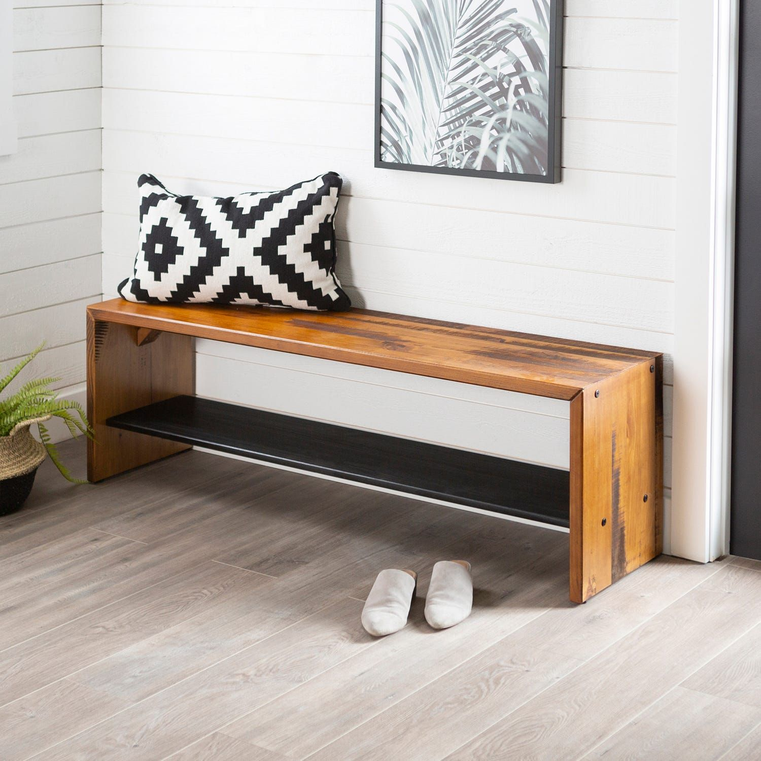 58 Rustic Reclaimed Gray Wood Entry Bench In 2020 Home Decor Styles Cheap Home Decor Home Decor