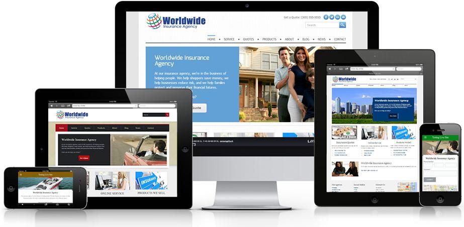 26 Excellent Insurance Websites Inspiration Designyep