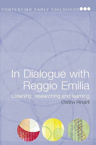"""Since 1970, Carlina Rinaldi has served as a Pedagogista and as Director of the Municipal Infant-Toddler Centers and Preschools of Reggio Emilia, Italy. She is now a Pedagogical Consultant to Reggio Children, and a Professor at the University of Modena and Reggio in the faculty of Science and Early Education."""