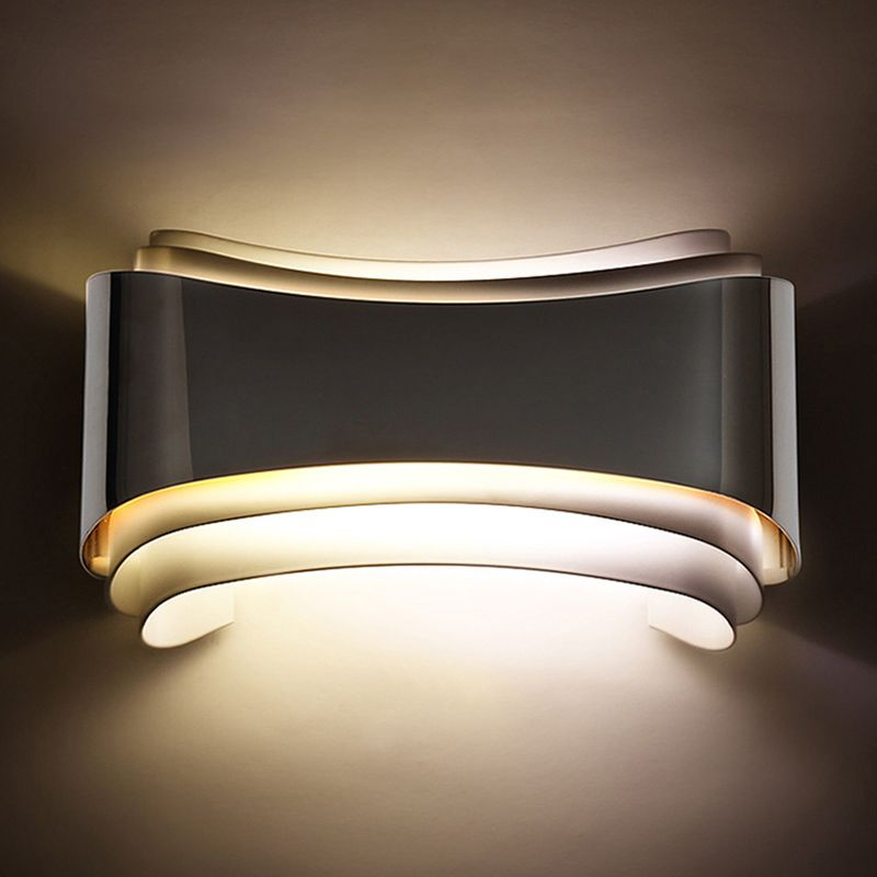(Buy here: http://appdeal.ru/2ifr ) 2016 Modern led sconce wall lights for bedroom study room Stainless steel+Acrylic 5W home decoration wall lights lamp fixtures for just US $45.00