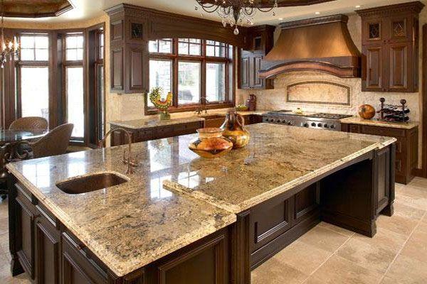 Arbeitsplatten sind ein entscheidender Bestandteil einer - arbeitsplatte küche granit