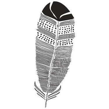 Indian Feather Meaning Tattoo Design | Feather meaning ...