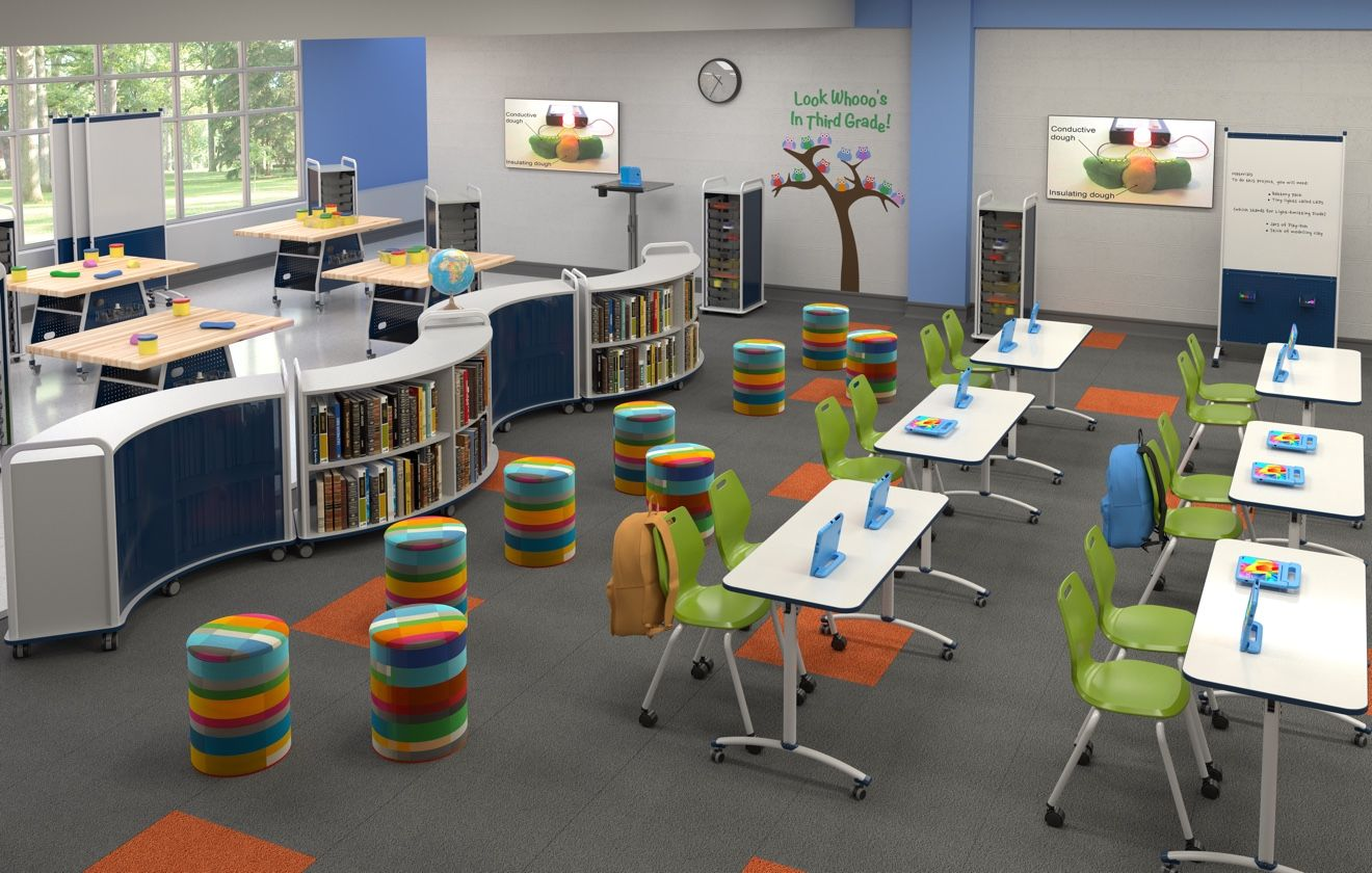 Paragon Furniture Classroom And Maker Space