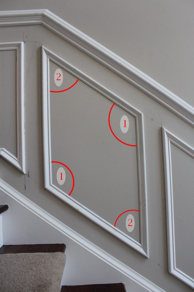Best of This article is a plete tutorial on how to install shadow box trim or molding squares to a wall in your home Lovely - Cool decorative door trim Lovely