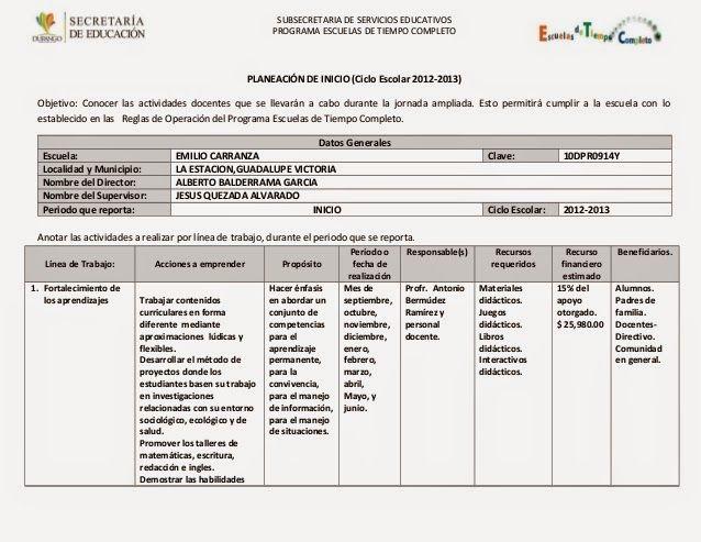 Docente competente formatos de planificaci n educativa for Planificacion de educacion inicial