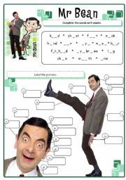 English worksheet mr bean body parts english worksheets english worksheet mr bean body parts solutioingenieria Image collections