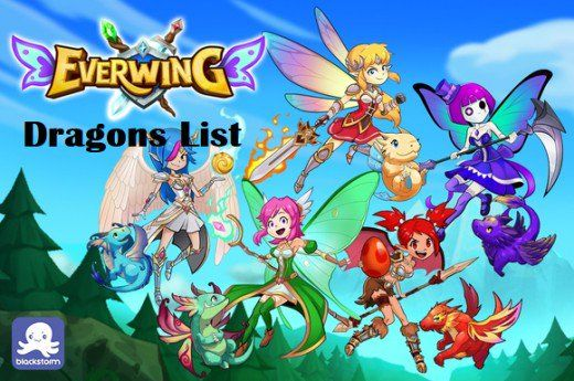 Everwing Sidekick Dragons List Dragon City Game Dragon City New Dragon
